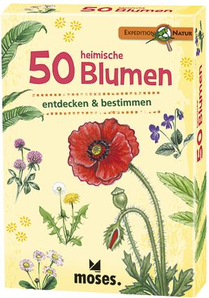 moses. Verlag Expedition Natur: 50 heimische Blumen MOS09717