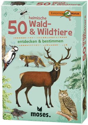 moses. Verlag Expedition Natur: 50 heimische Wald- & Wildtiere MOS09739