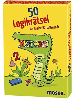 moses. Verlag 50 Logikrätsel für kleine Rätselfreunde MOS21082