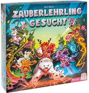 Mattel Zauberlehring gesucht! d ab 10 Jahren, 2-4 Spieler, Spieldauer ca. 60 Min. 60502081