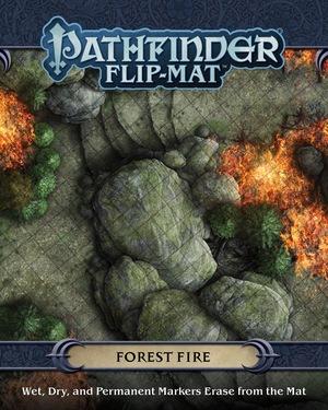 Paizo Flip-Mat: Forest Fire PAI30090