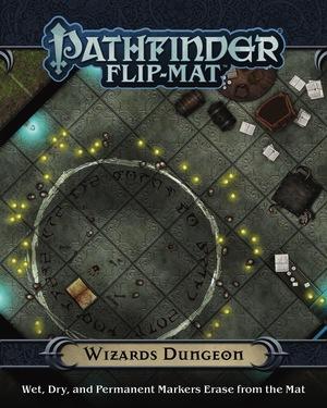 Paizo Flip-Mat: Wizard's Dungeon PAI30094
