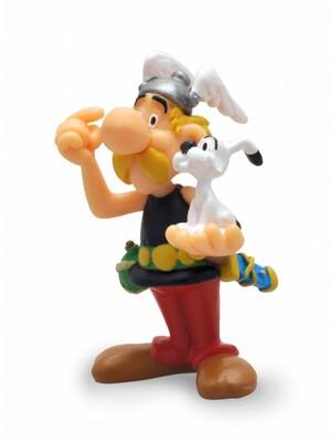 PLASTOY Asterix: Figur Asterix mit Idefix PLA60566