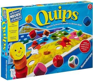 Ravensburger Quips, d ab 3 Jahren, 2-4 Spieler, Suchspiel zum Farben lernen 60524920