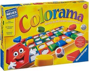 Ravensburger Colorama, d ab 3 Jahren, 1-6 Spieler, Farben-und Formen erkennen 60524921