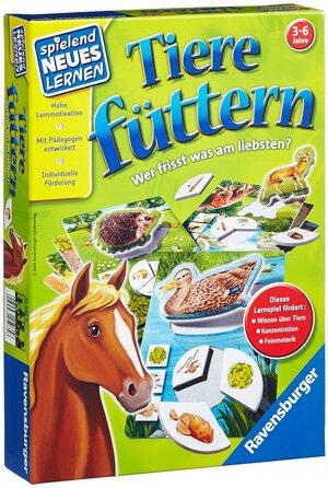 Ravensburger Tiere füttern, d ab 3 Jahren, 1-4 Spieler, spielend lernen 60525034