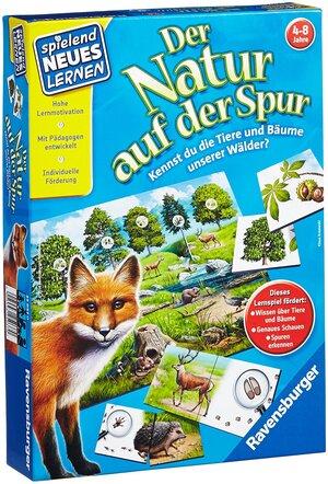 Ravensburger Der Natur auf der Spur, d ab 4 Jahren, 2-4 Spieler, spielend lernen 60525041