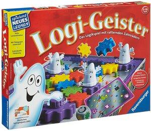 Ravensburger Logi-Geister, d ab 5 Jahren, 5-10 Spieler, spielend lernen 60525042