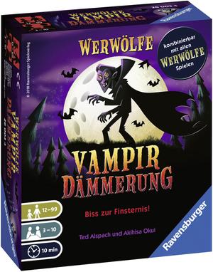 Ravensburger Werwölfe Vampirdämmerung, d ab 10 Jahren, 3-10 Spieler, Bluffspiel 60526003