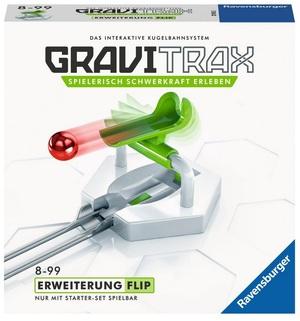 Ravensburger GraviTrax Flip, d/f/i Erweiterung zu Kugelbahn Bausystem, ab 8+ 60527616