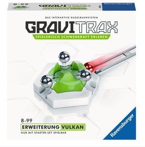 Ravensburger GraviTrax Vulkan, d/f/i Erweiterung zu Kugelbahn Bausystem, ab 8+ 60527619