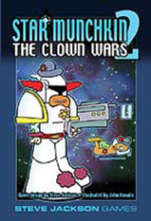 Steve Jackson Games Star Munchkin 2: Clown Wars (englische Ausgabe) SJG01418