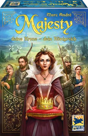 Schmidt Spiele Majesty: Deine Krone ? Dein Königreich *Empfohlen SdJ 2018* 48275