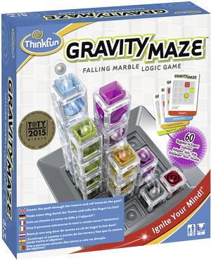 Ravensburger Gravity Maze, d/f/i Knobelspiel ab 8 Jahren, für 1 Spieler, Dauer 20 Min. 60576339