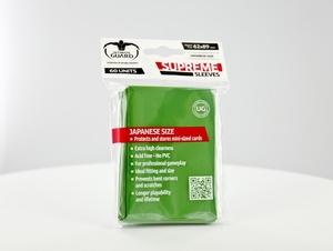 ULTIMATE GUARD Kartenhüllen Japanische Sleeves Grün (60) UGD10062