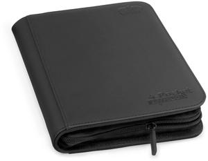 ULTIMATE GUARD 4-Pocket Zipfolio Xenoskin Schwarz UGD10351