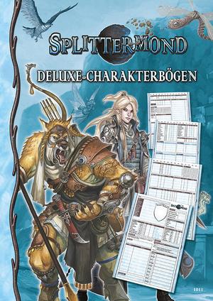 Uhrwerk Verlag Splittermond: Deluxe-Charakterbögenset UHR01011