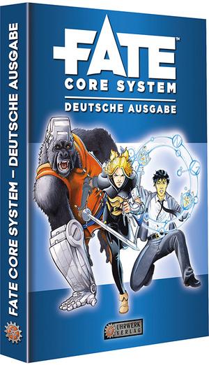 Uhrwerk Verlag Fate: Fate Core: deutsche Ausgabe UHR04000