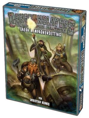 Uhrwerk Verlag Dungeonslayers: Caera Kampagnenbox UHR04502