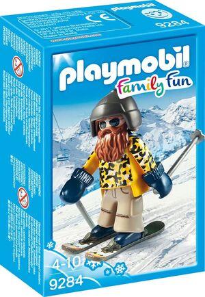 playmobil Skifahrer mit Snowblades 9284