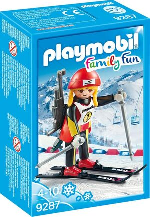 playmobil Biathletin 9287