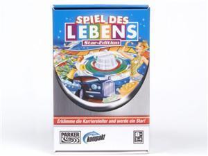 Hasbro Spiel des Lebens, PARKER, Kompakt-Spiel für 2-4 Spieler, ab 8 Jahre, nur deutsch, in Lithobox HN36Ha1019865