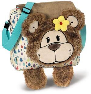 Nici Kindergartentasche Bär Mädchen Plüsch 40492