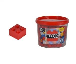 Simba Blox 100 rot 4er Steine in Box 104114111