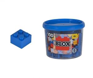 Simba Blox 100 blaue 4er Steine in Dose 104114112