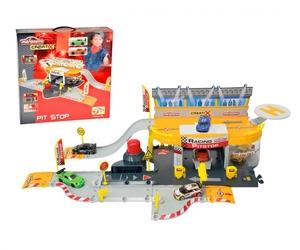 Majorette Majorette Creatix Racing Pitstop + 1 Car 212050011