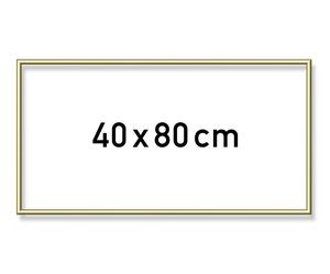 SCHIPPER Arts & Crafts Malen nach Zahlen - Alurahmen Gold 40 x 80 cm 605130708