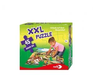 noris XXL Puzzle Urlaub auf dem Bauernhof 606031565