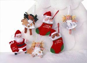 Zapf Creation Maggie Raggies Christmas 10cm, eines wird geliefert 10751893