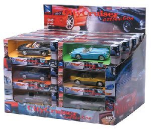 1:43 City Cruiser Collection, 6ass. 4119107
