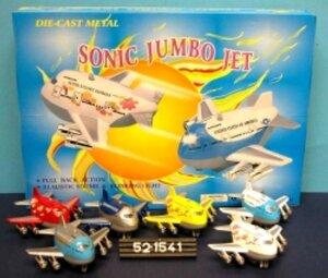 Diverse Sonic Jumbo Jet ass. 41521541
