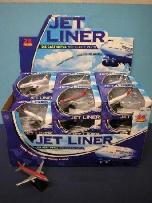 Jet Liner Flugzeug im Display à 24 Stk. 41541430