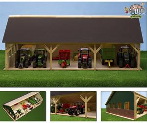 Kids GLOBE Holz-Schuppen 55.5x77.5x38cm 41610340