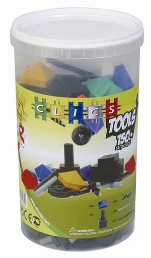 clics tube Bausatz 150 Teile 43023