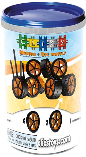 clics tube Räder und Achsen 43033