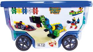 clics Rollerbox blau 400 Teile 430411