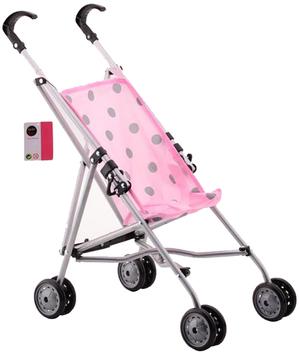 Puppenbuggy rosa 4327562