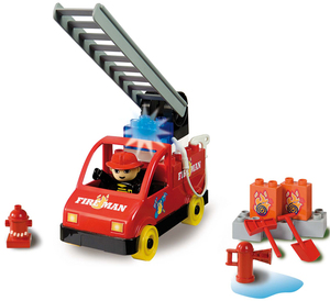 UNICO plus Feuerwehrauto 20 teilig 438546