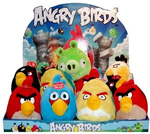 Commonwealth Toy & Novelty Angry Birds 13cm mit Sound 4390794