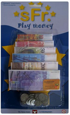 Tanner der kleine Kaufmann Spielgeld Franken und Euro 4502089