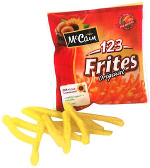 Pommes Firtes 1-2-3 McCain 4590172