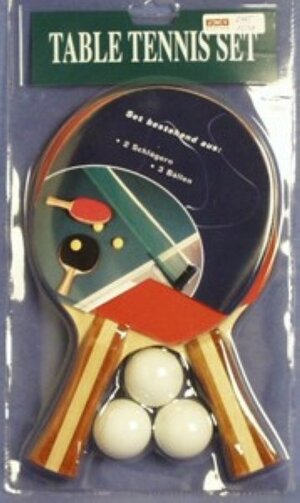 Tischtennis-Set mit 3 Bällen 471250
