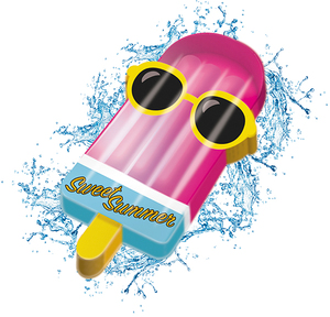 MONDO Jumbo Ice Cream aufblasbar 4716745