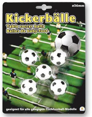 Hoffmann 5 Kickerbälle für Tischfussball 481968