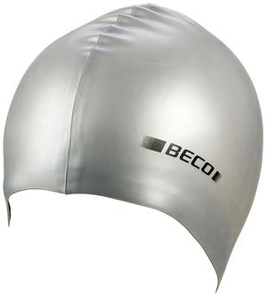 BECO Silikon-Schwimmhaube silber 52739711