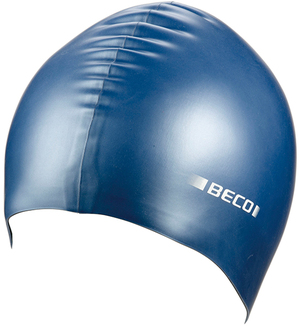 BECO Silikon-Schwimmhaube blau 5273976